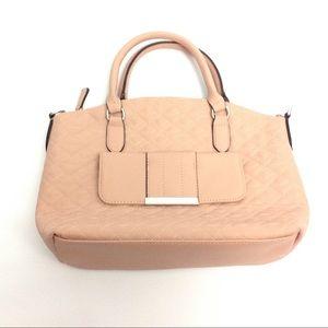 Women's Medium Purse Blush Pink Tan